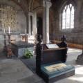 The tomb of Venerable Bede