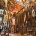St Cuthbert's Shrine in Durham Cathedral